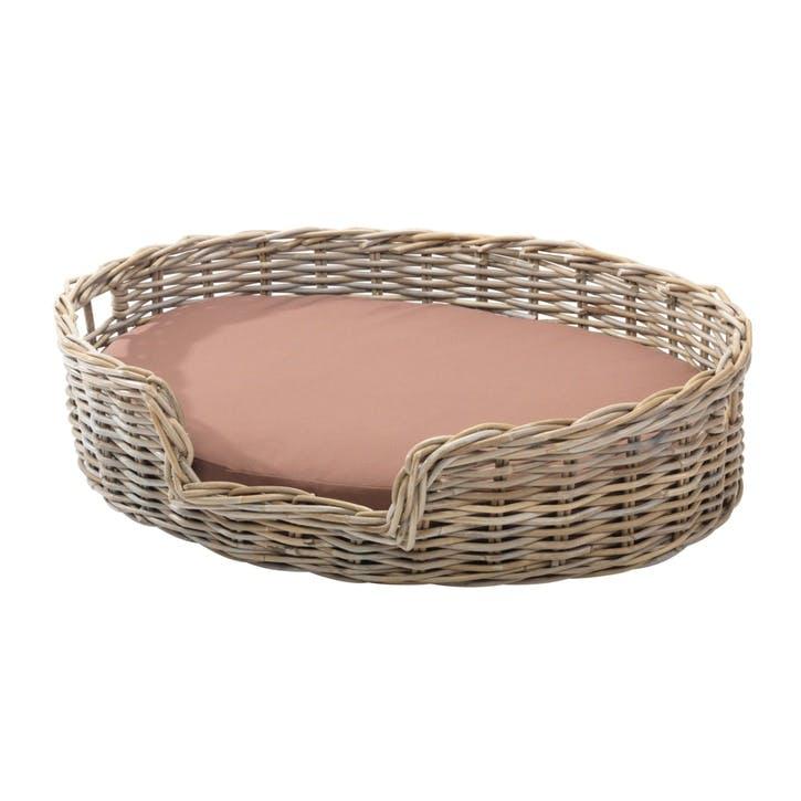 Rattan Kubu Dog Basket - Large