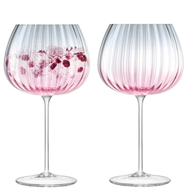 Dusk Goblet, Set of 2, Pink
