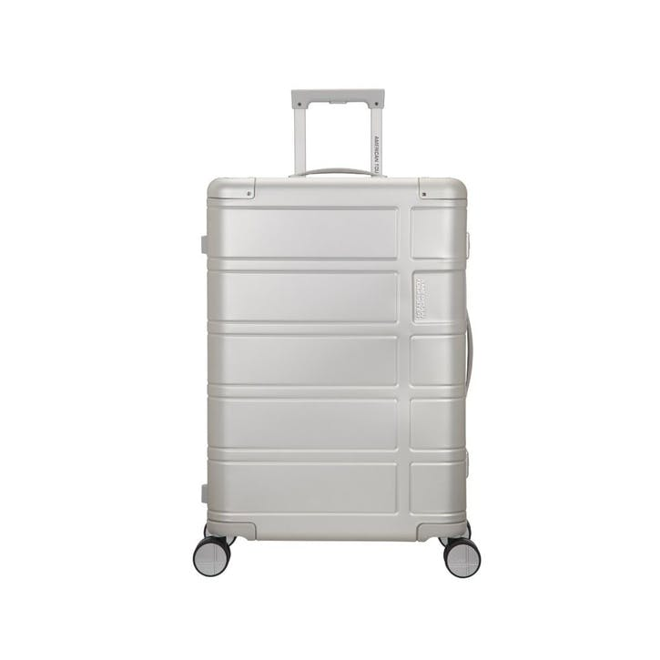 Alumo Spinner Suitcase, 67cm, Silver