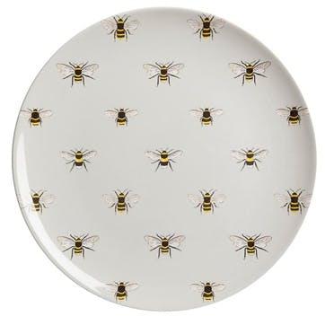 'Bees' Melamine Dinner Plate