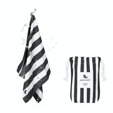 Quick Cool Towel, Kamari Charcoal
