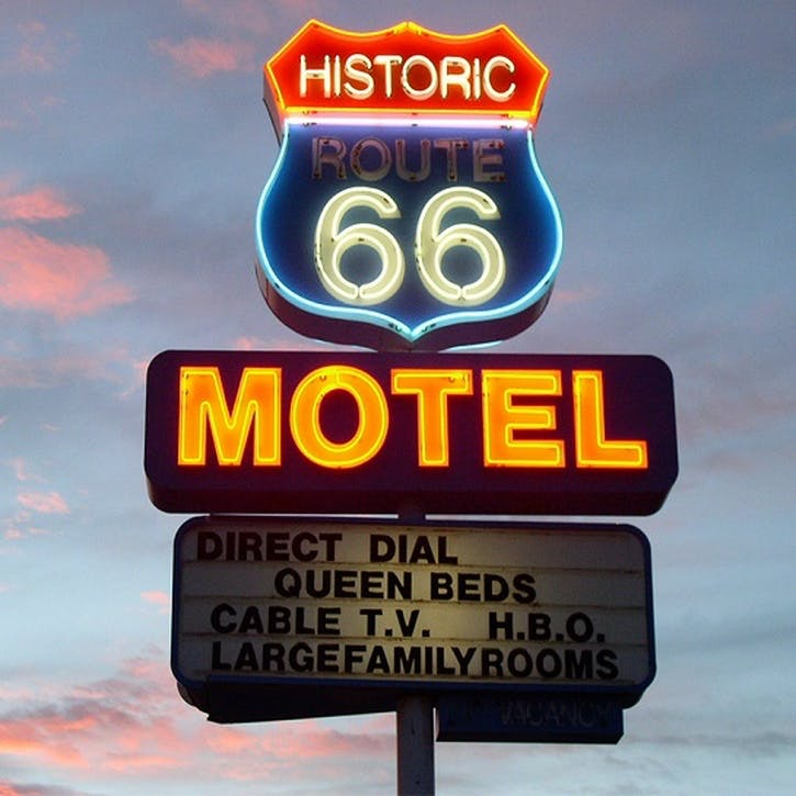 Honeymoon Route 66 Motel