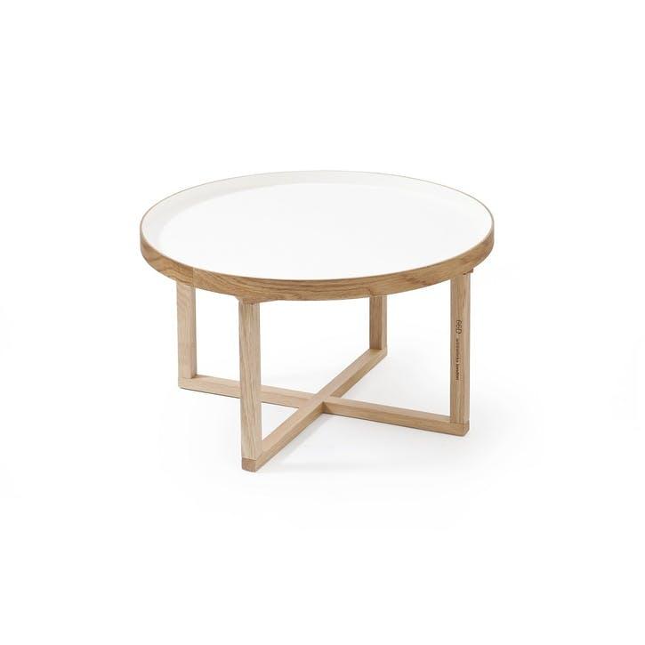 66D Round Table, White Oak