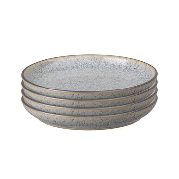 Studio Grey Coupe Side Plate, Set of 4