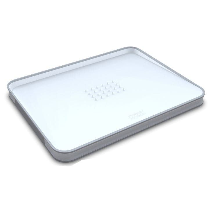 Cut&Carve Plus Chopping Board, Large, White