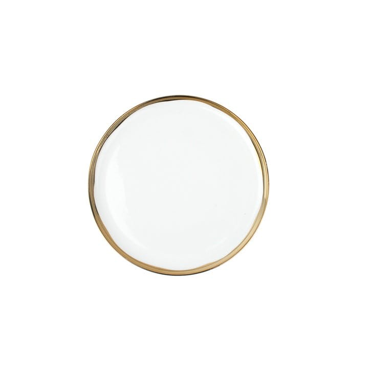 Dauville Side Plate, Gold