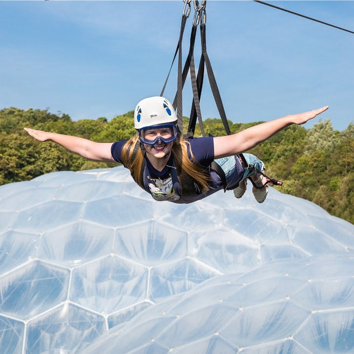 Hangloose @ Eden Project For Two, 4 Activities