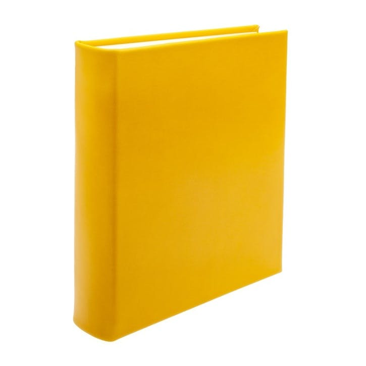 Chelsea Portrait Leather Photo Album, Lemon