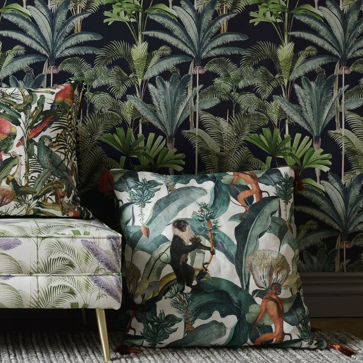 Tropical Story Bermuda Cushion