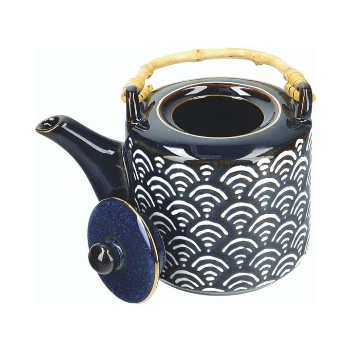 Satori Teapot with Bamboo Handle
