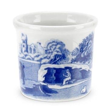 Blue Italian Eggcup, Set of 4