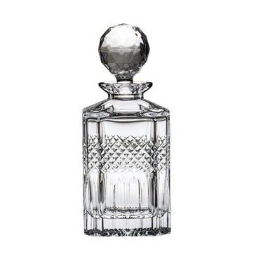 Diamonds Crystal Square Spirit Decanter