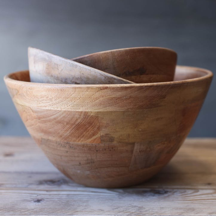 Indus Wooden Bowl - Medium