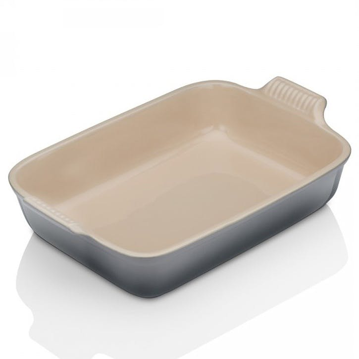 Stoneware Rectangular Dish - 19cm; Flint