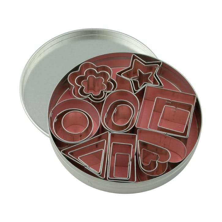 Assorted Mini Cookie Cutters, Set of 24