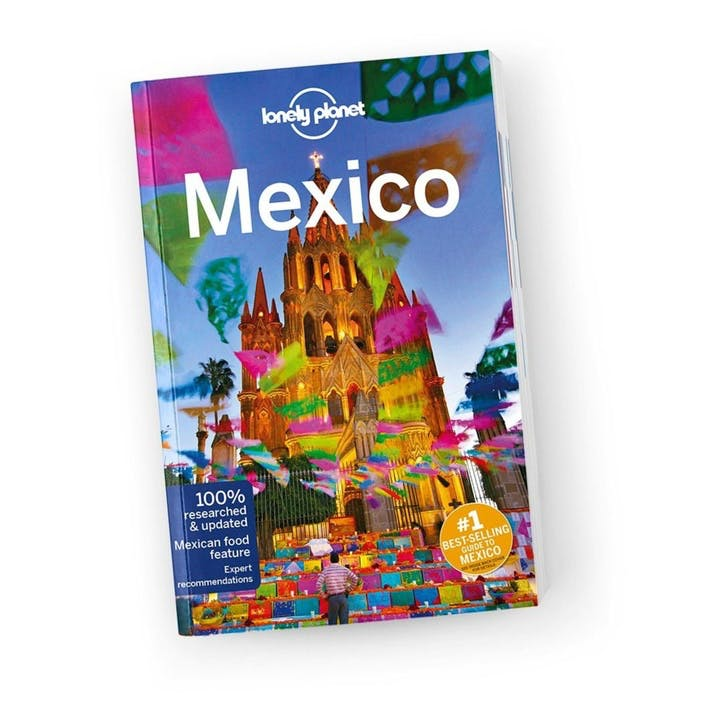 Lonely Planet Mexico, Paperback