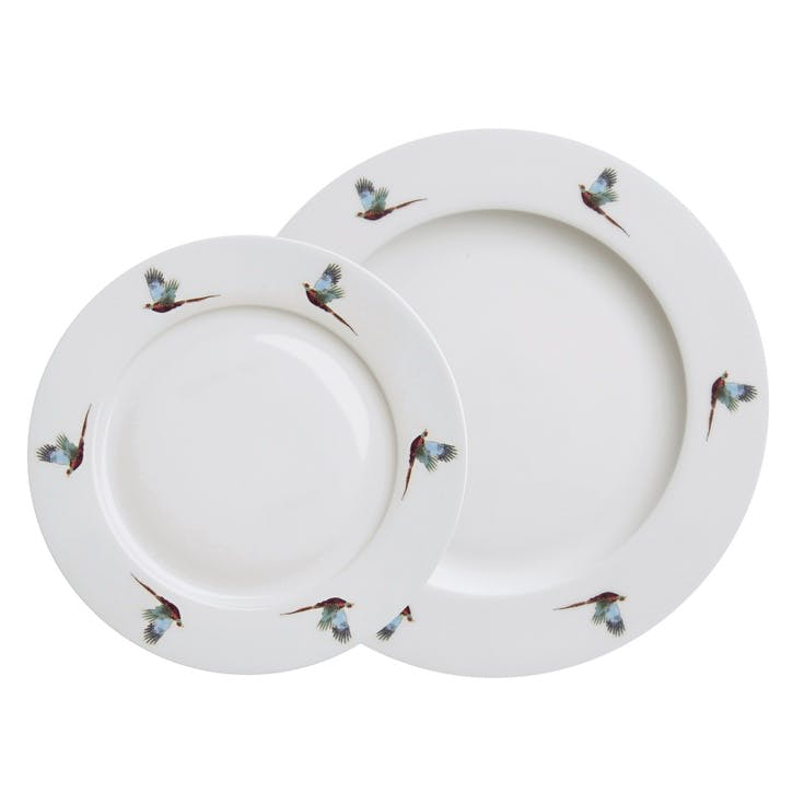 'Pheasant' Flying Side Plate