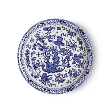 Regal Peacock Breakfast Saucer, Blue