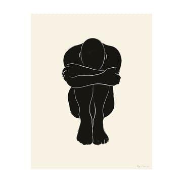 Static 02 - By Garmi Art Print D30cm x H40cm