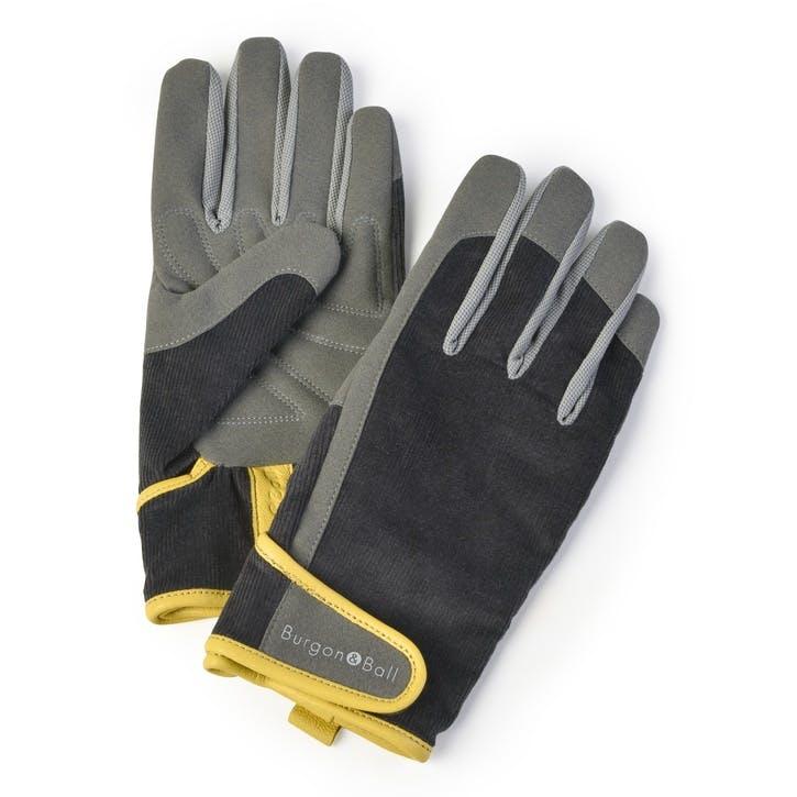 Mens Gardening Gloves, Slate/Corduroy