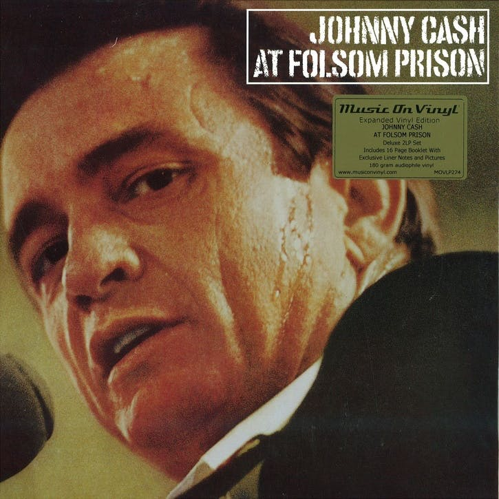 "Johnny Cash At Folsom Prison 12"" Vinyl"
