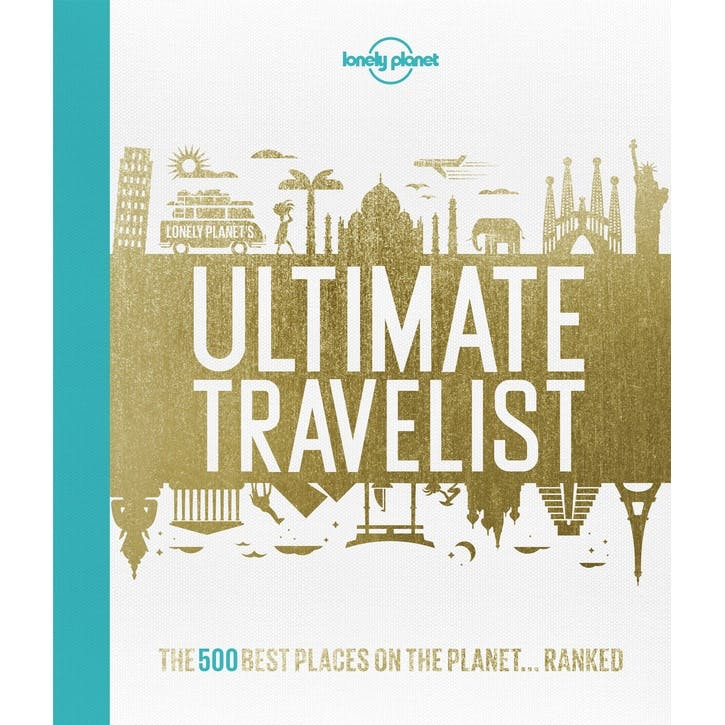 Lonely Planet's Ultimate Travelist, Hardcover