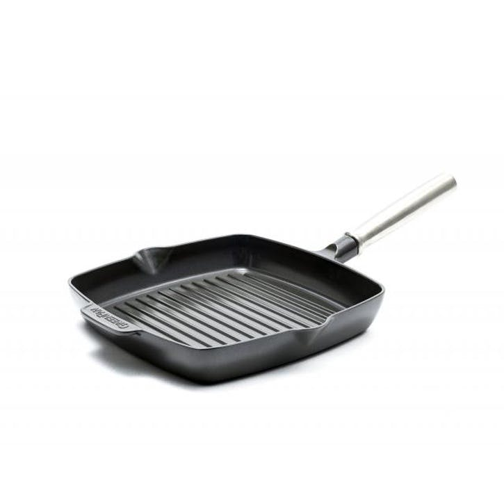 Featherweights Ceramic Non-Stick Square Grillpan, 26cm