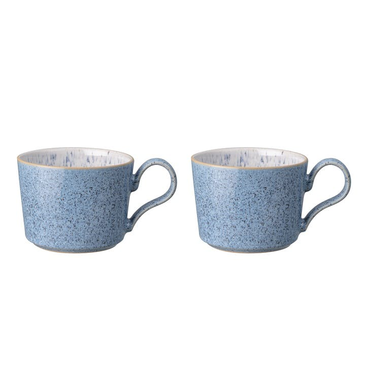 Studio Blue Brew Coffee Cup, Set Of 2