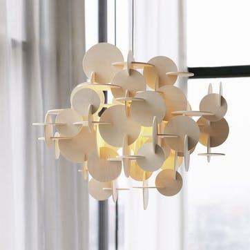 Bau Small Light Shade H44 x D57.5cm Natural