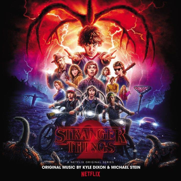 "Stranger Things 2 Soundtrack, 12"" Vinyl"