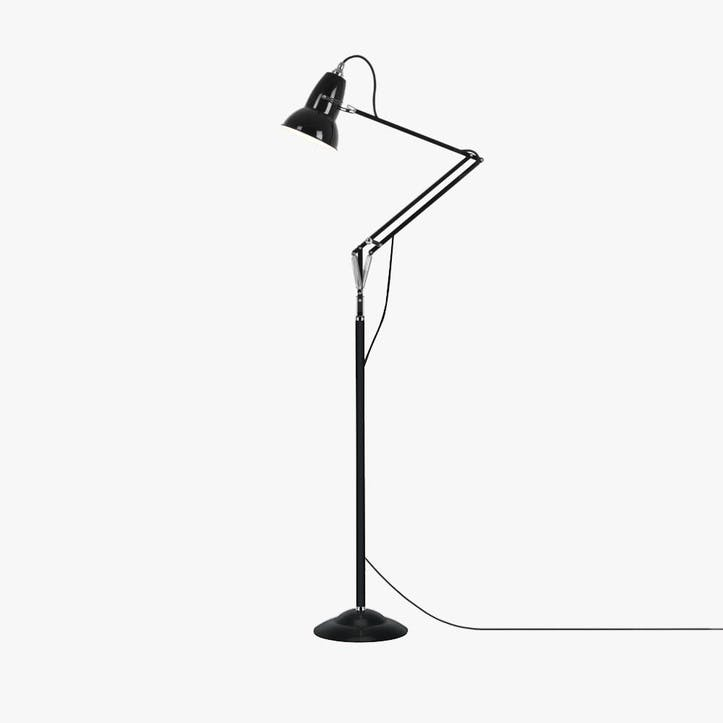 Original 1227 Floor Lamp, Jet Black
