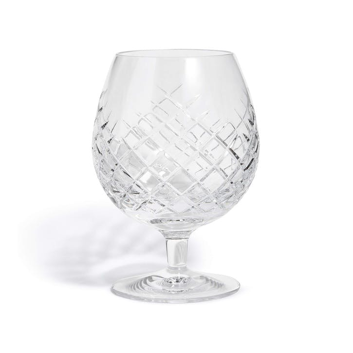 Barwell Cut Crystal Brandy Glass
