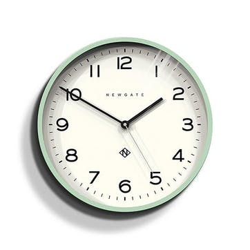 Echo - Number 3, Wall Clock, W37cm x D5cm x H37cm, Mint