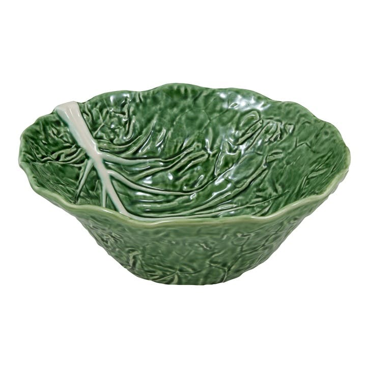 Cabbage Deep Salad Bowl, 29cm, Green