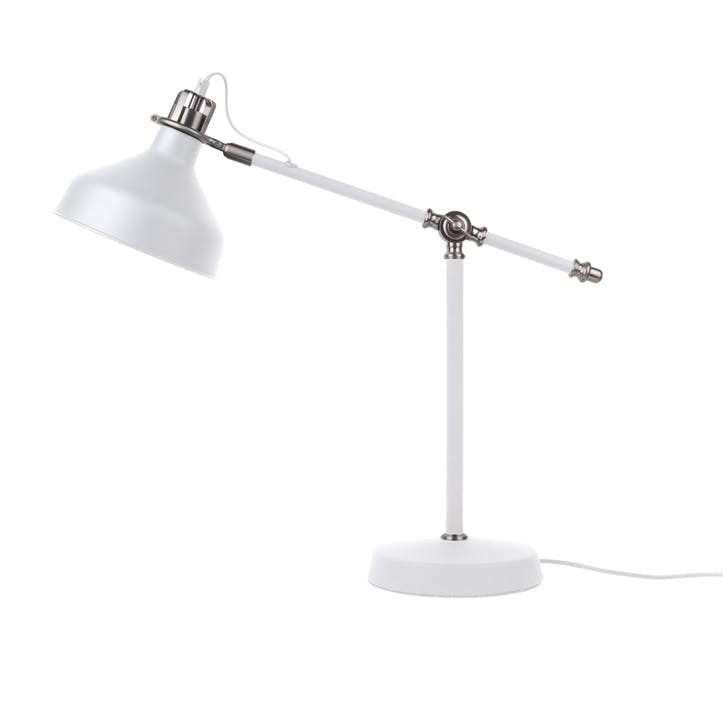 Copious Table Lamp, White