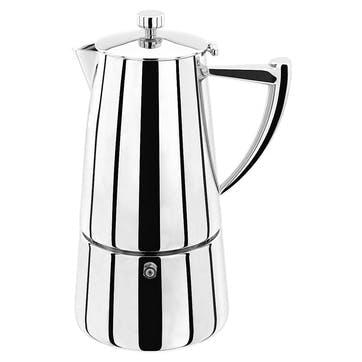 Art Deco 6 Cup Espresso Maker