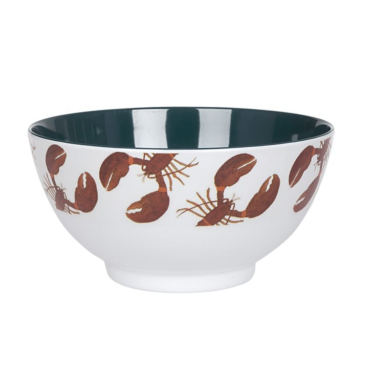'Lobster' Melamine Bowl