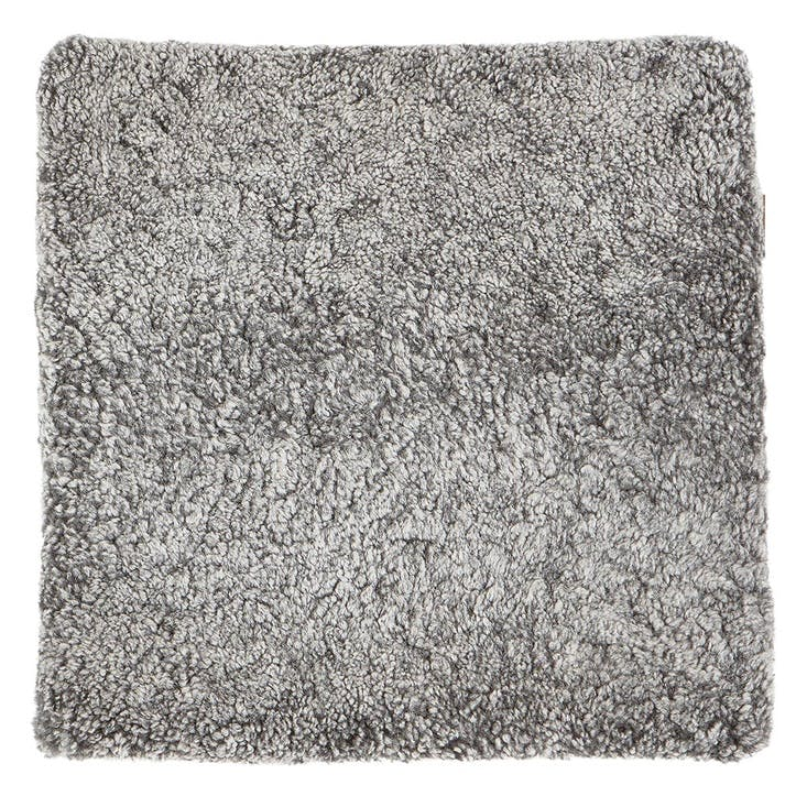 Jill Square Seat Pad, Graphite