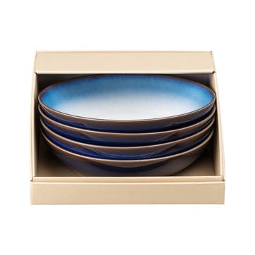 Blue Haze Pasta Bowl, Set of 4