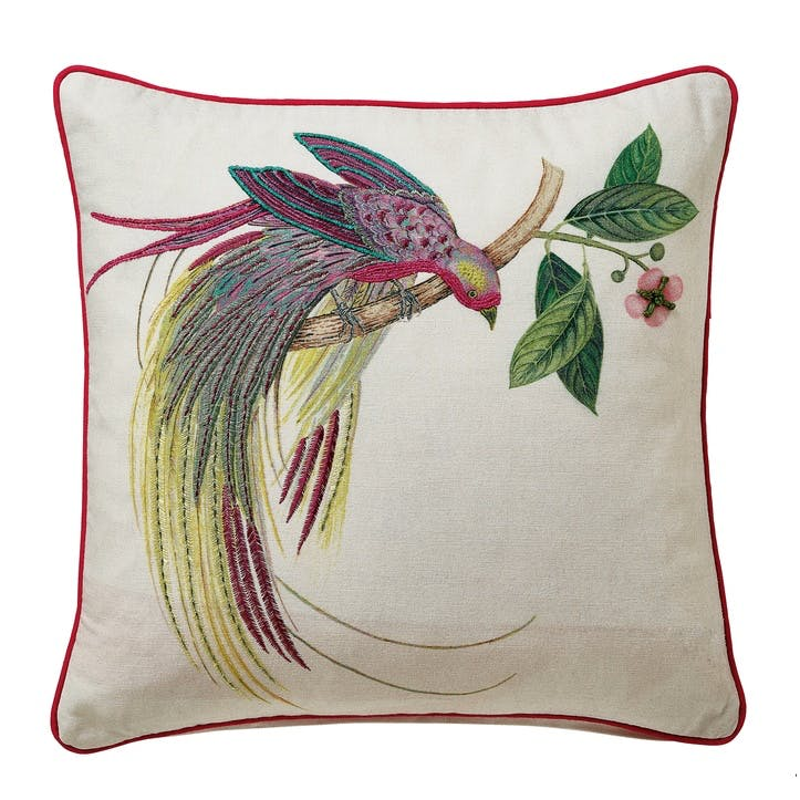 Tulipomania Cushion, Amethyst