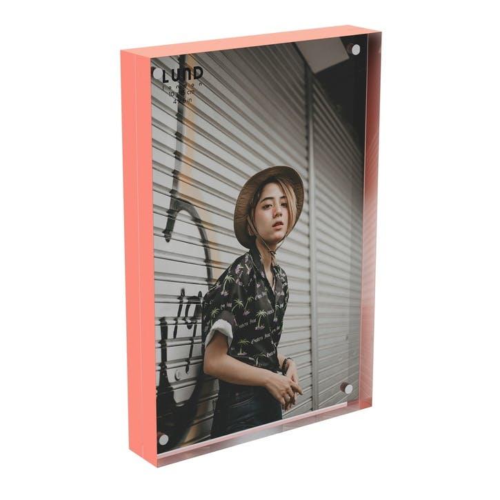 Skittle, Magnet Frame, H15 X W10cm, Coral