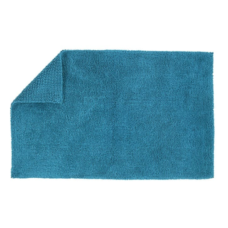 Reversible Bath Mat, Kingfisher