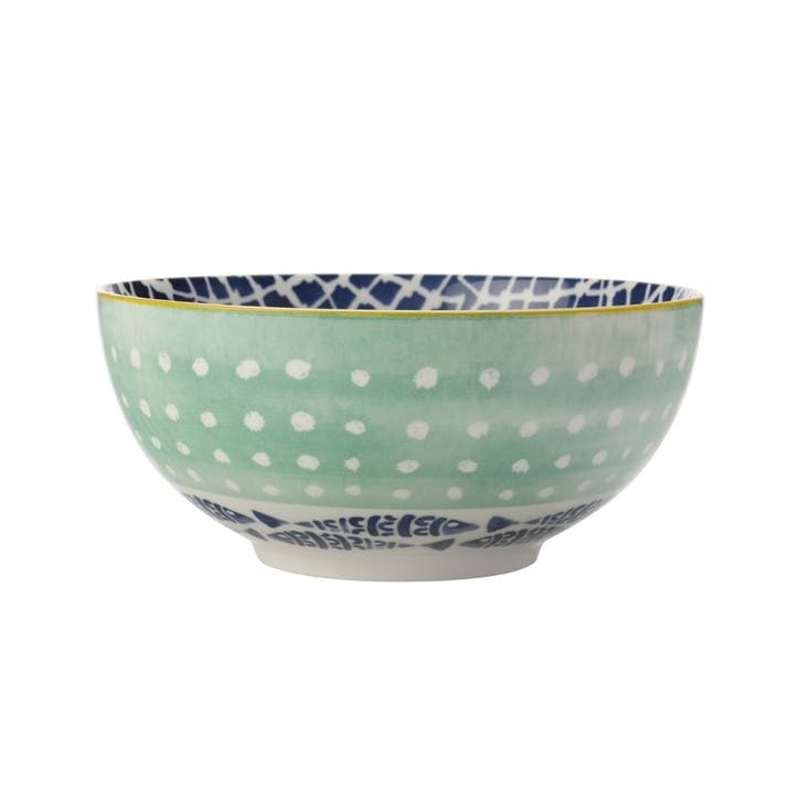Laguna Tall Pasta Bowl, Green