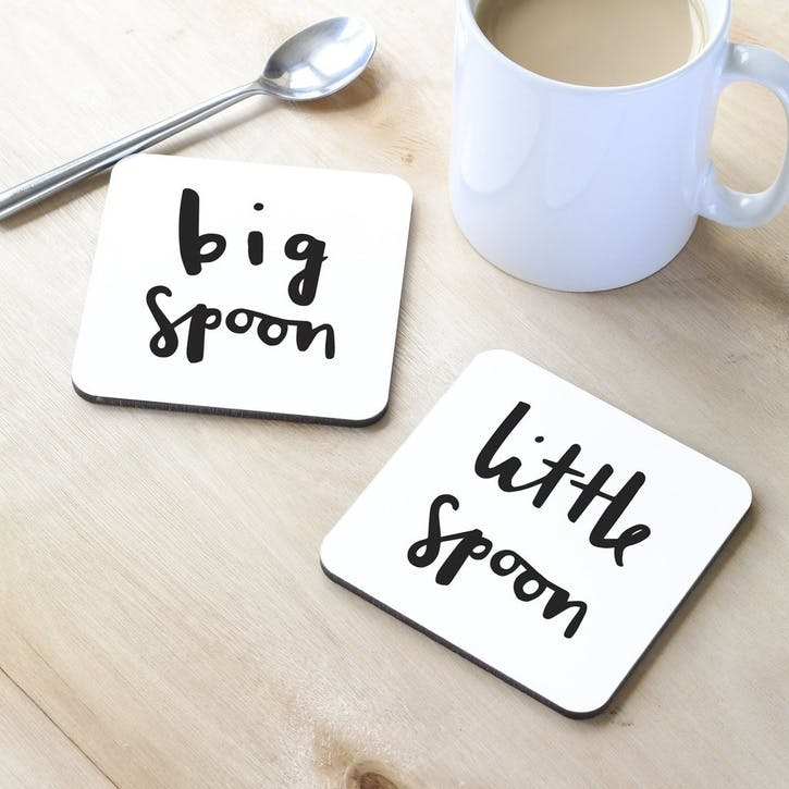 'Little Spoon' Coaster