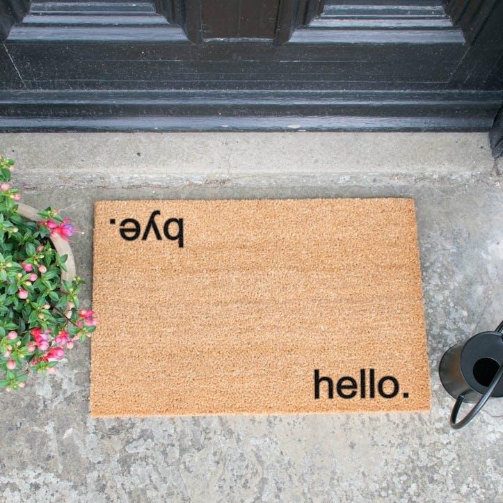 Hello, Bye Doormat
