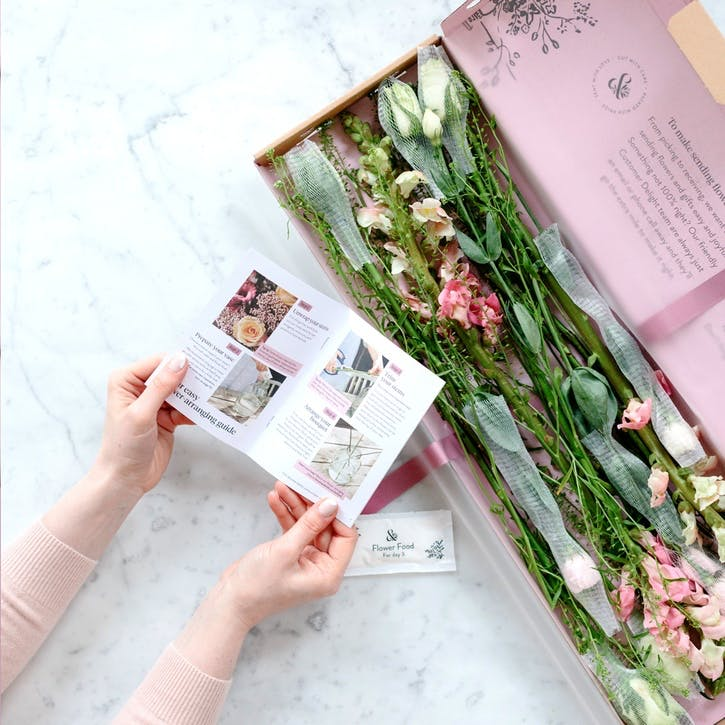 Letterbox Flower Subscription - 3 Months