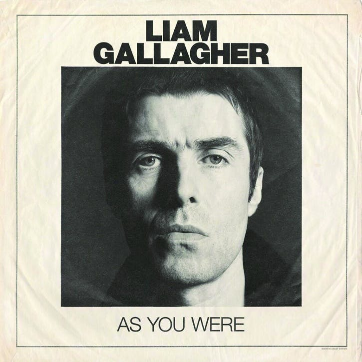 "Liam Gallagher, As You Were 12"" Vinyl"