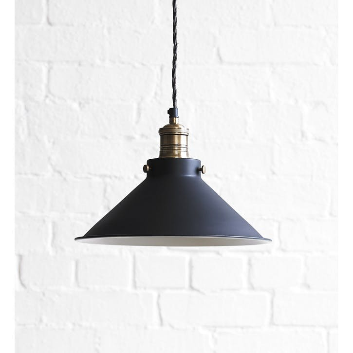 Dexter Pendant Light in Ash Black, Larger