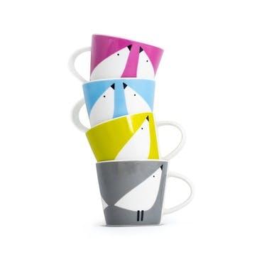 Lintu Espresso Cups, Set of 4