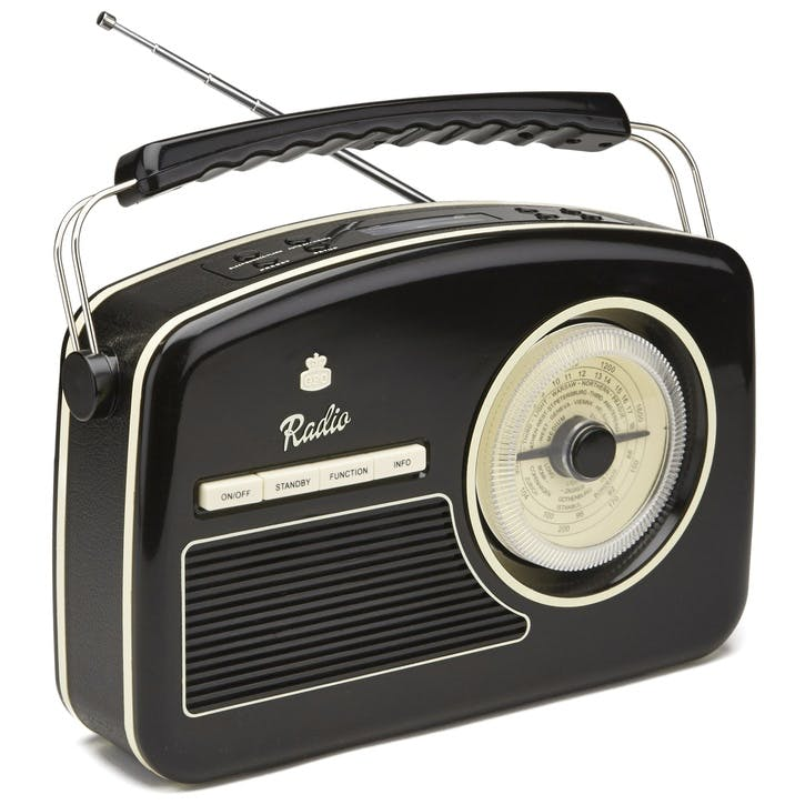 Rydell DAB Radio; Black & Cream